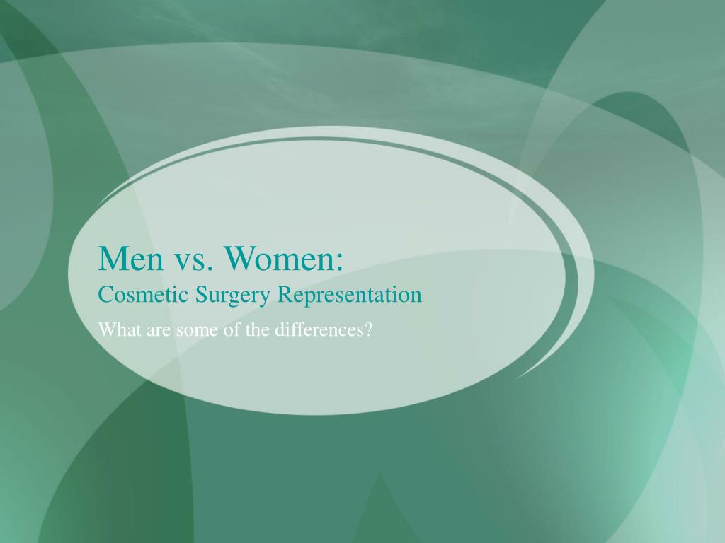 Men vs. Women: