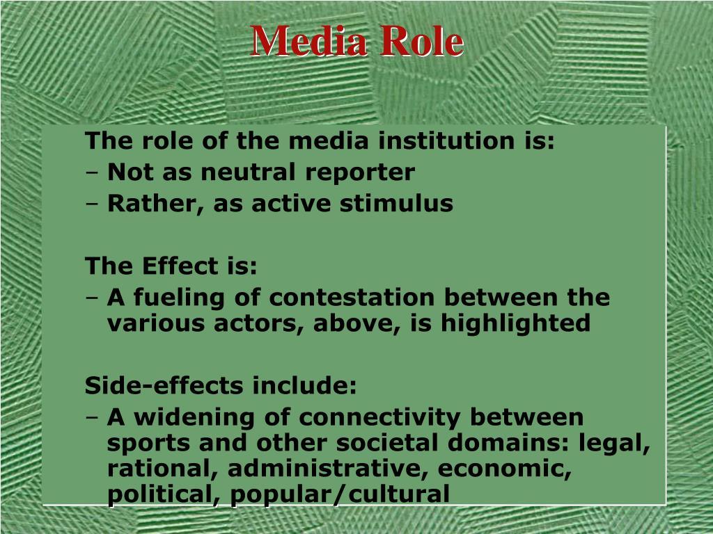 Media Role