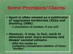 some premises claims