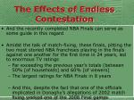 the effects of endless contestation89
