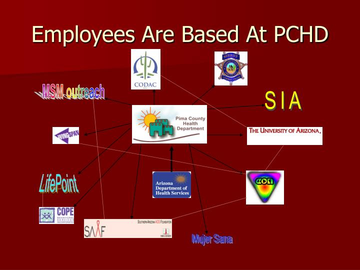 Employees Are Based At PCHD
