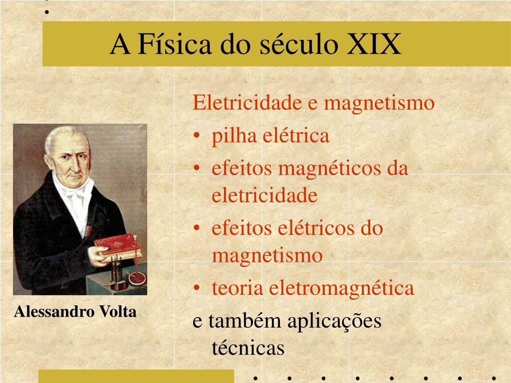 A Física do século XIX