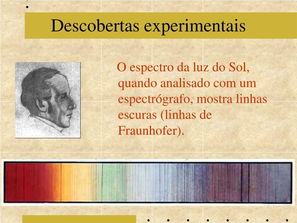 Descobertas experimentais