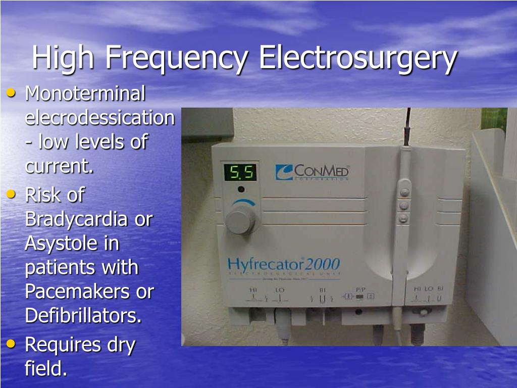 High Frequency Electrosurgery