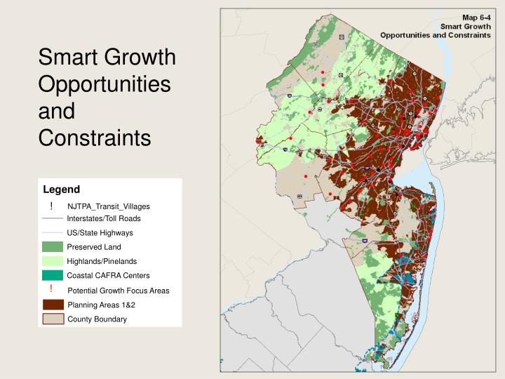Smart Growth Opportunities and Constraints