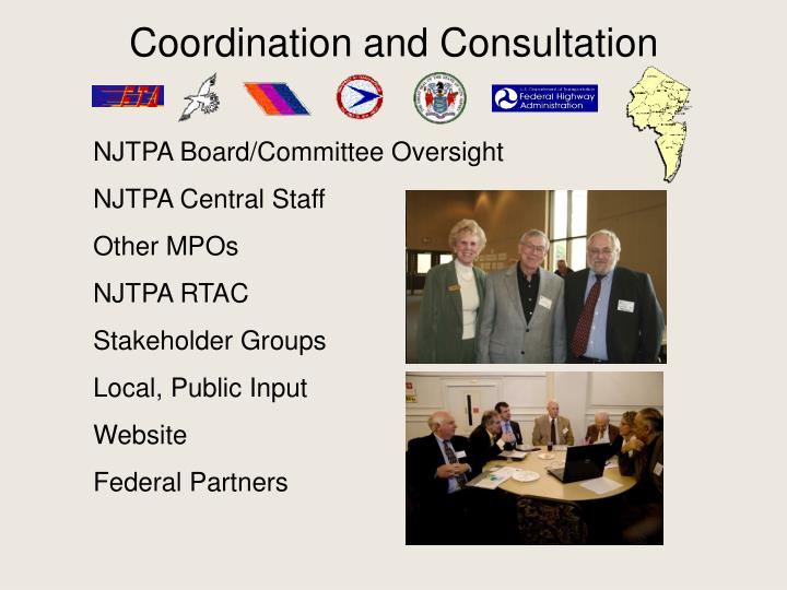 Coordination and Consultation
