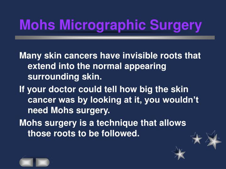 Mohs micrographic surgery3