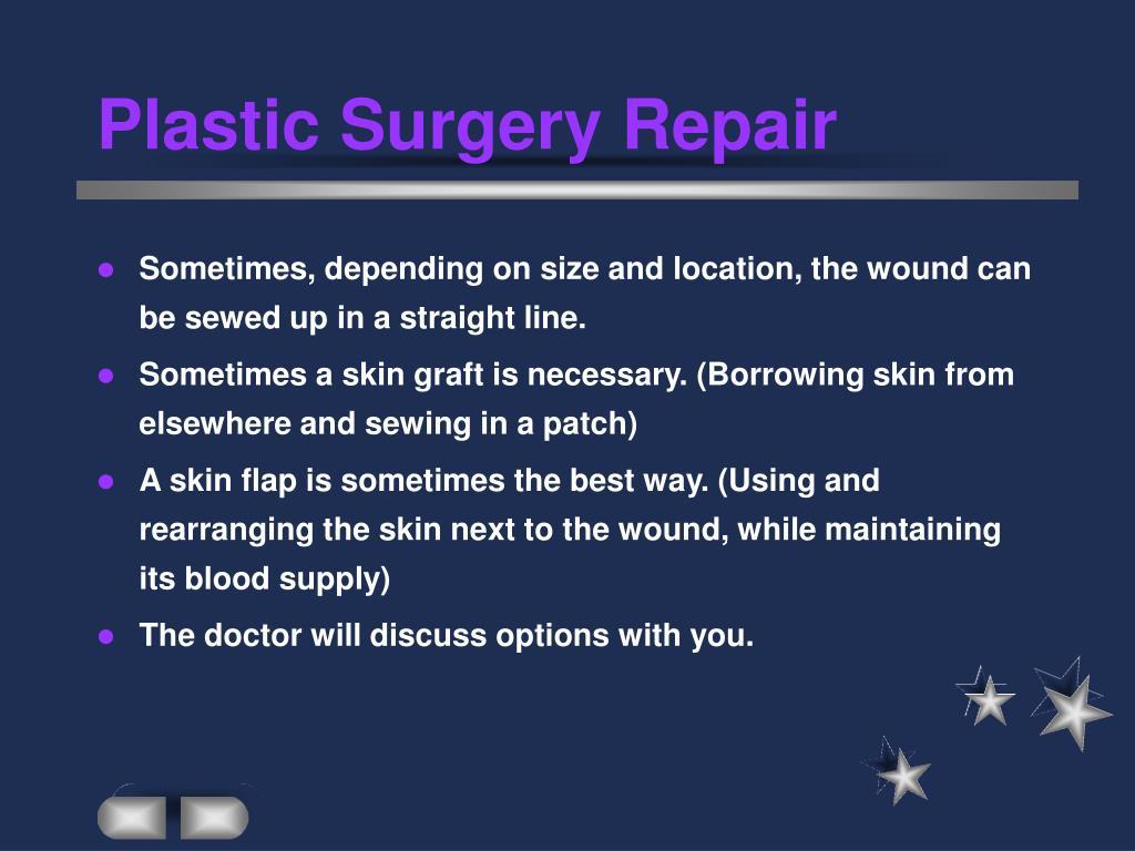Plastic Surgery Repair