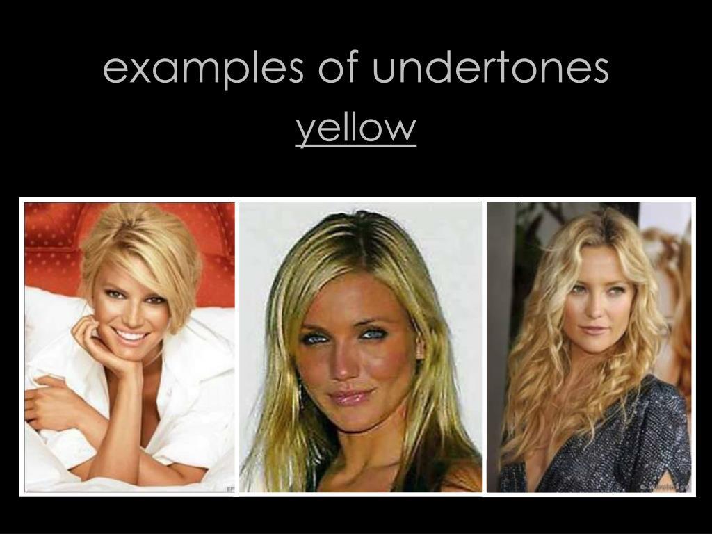 examples of undertones