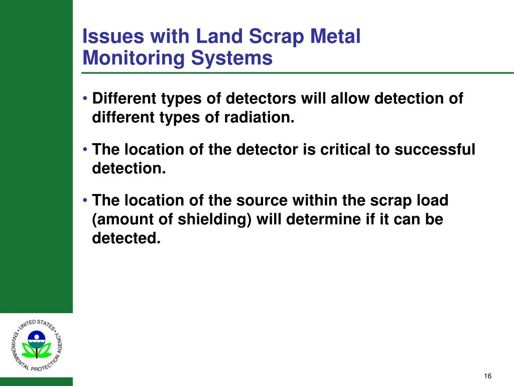 Issues with Land Scrap Metal