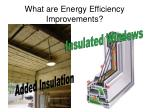 what are energy efficiency improvements