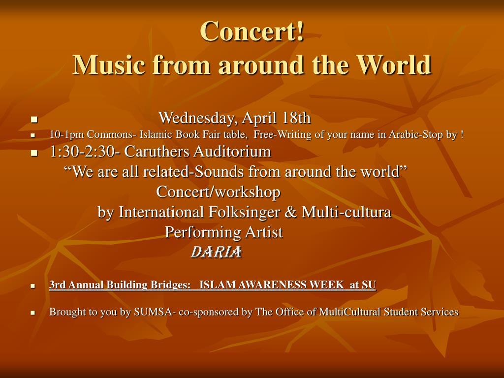 Concert!