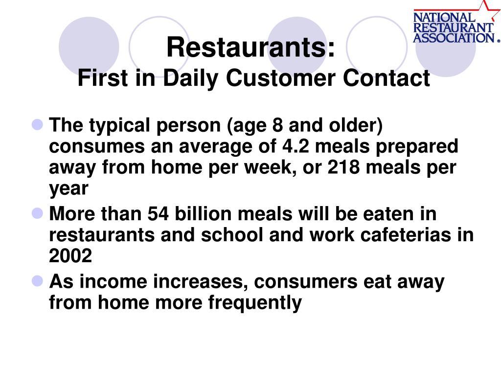 Restaurants: