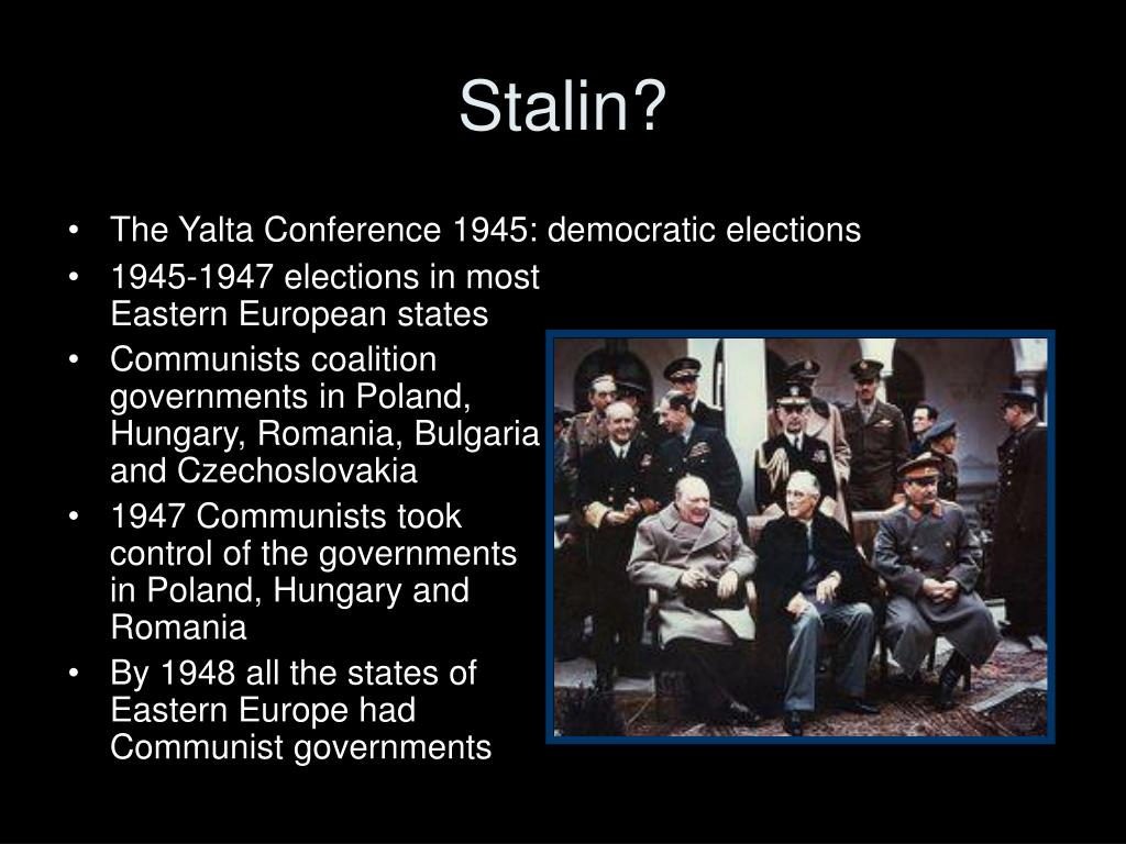 1945-1947 elections in most Eastern European states