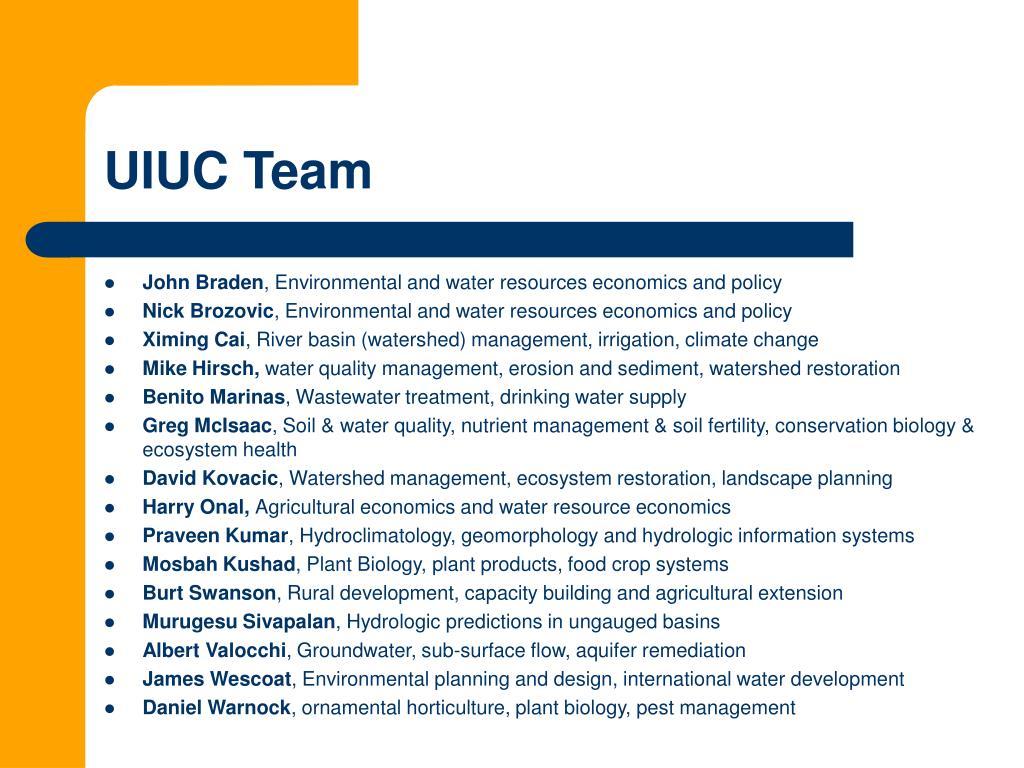 UIUC Team
