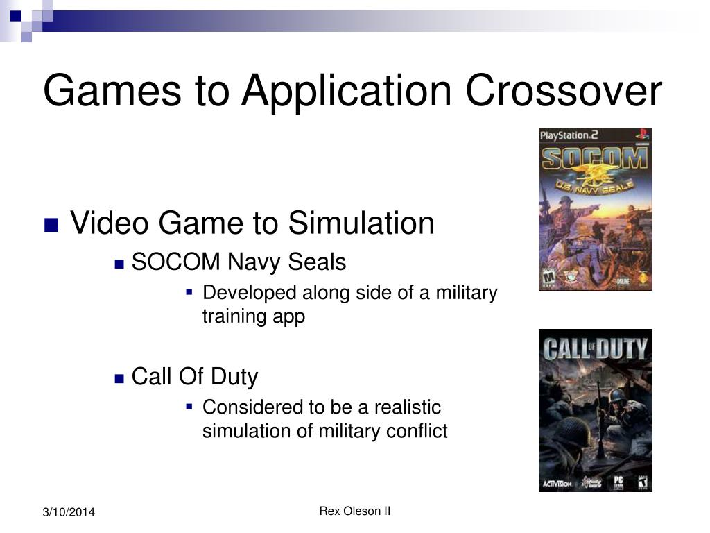 Games to Application Crossover