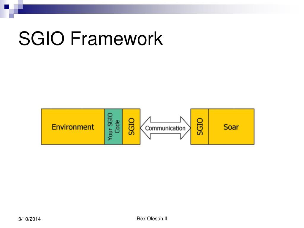 SGIO Framework