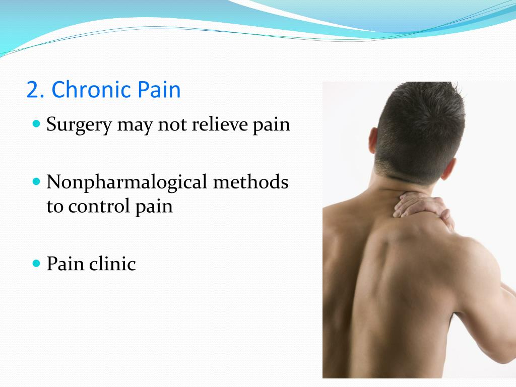 2. Chronic Pain