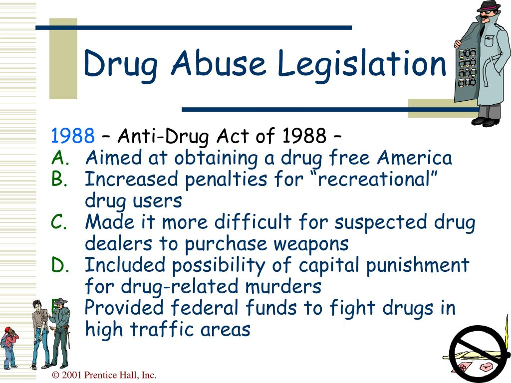 Drug Abuse Legislation