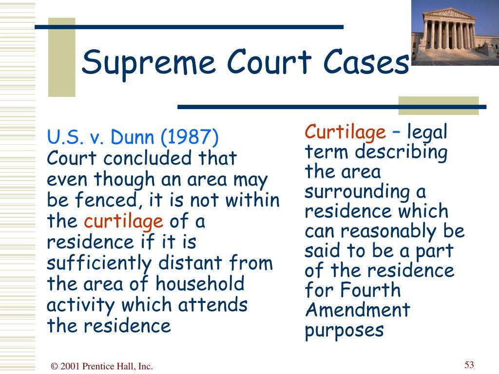 U.S. v. Dunn (1987)