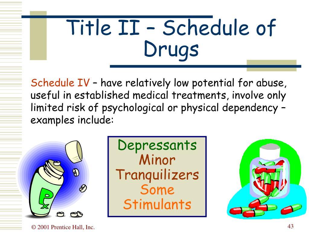 Schedule IV