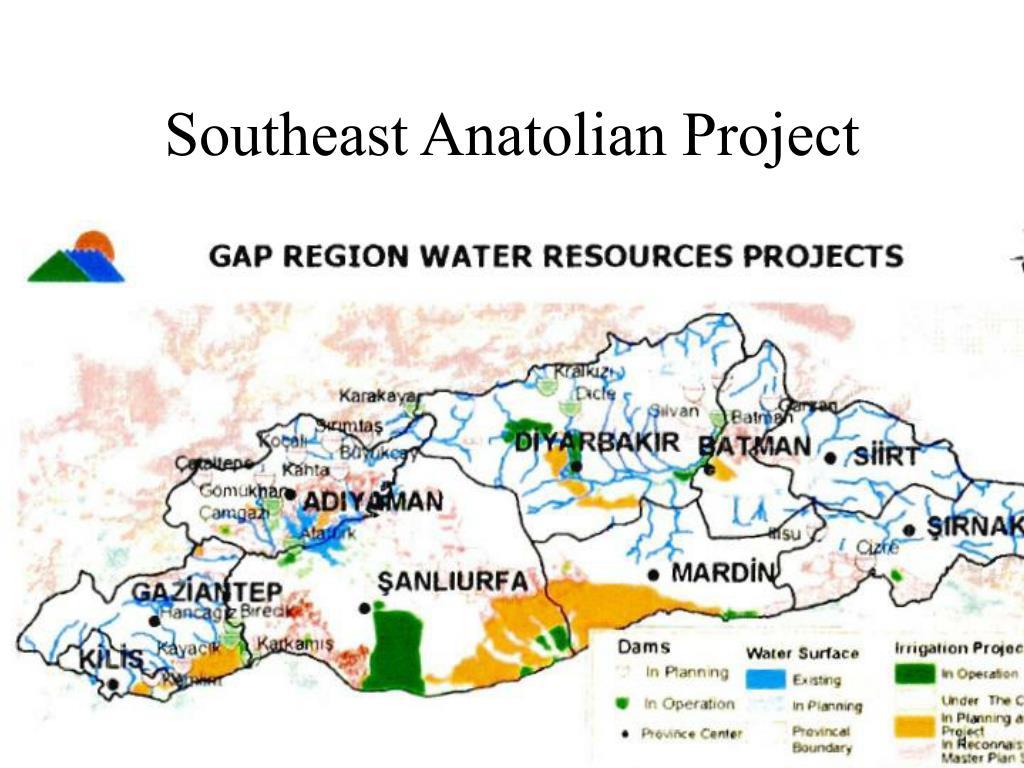 Southeast Anatolian Project