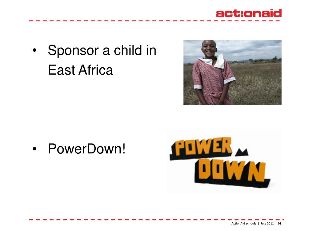Sponsor a child in