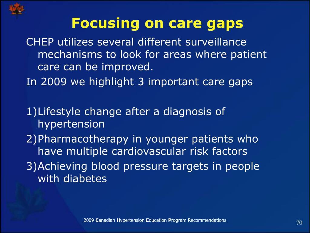 Focusing on care gaps