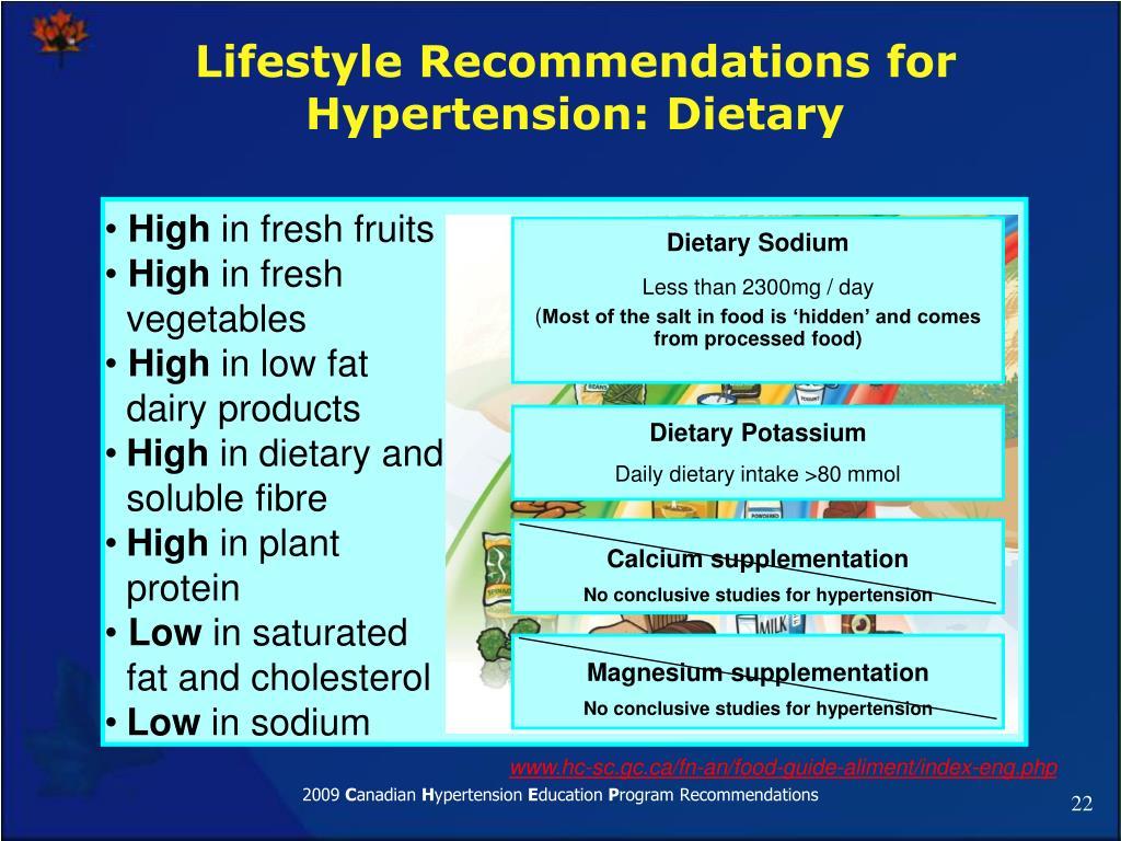 Dietary Sodium