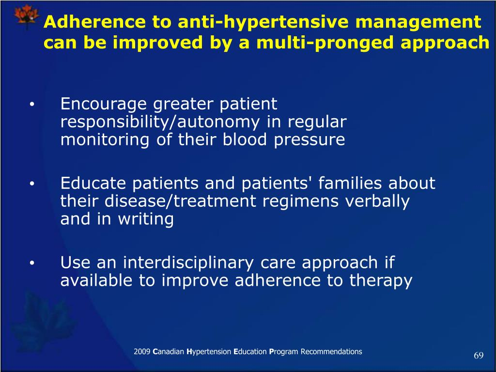 Encourage greater patient responsibility/autonomy in regular monitoring of their blood pressure