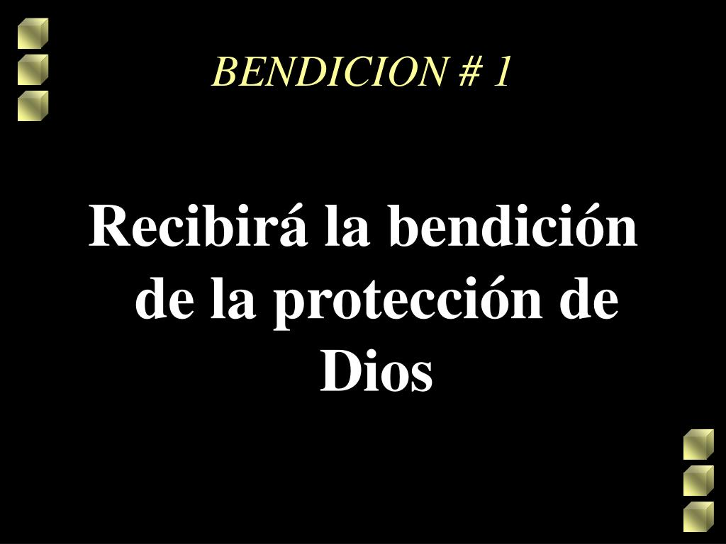 BENDICION # 1