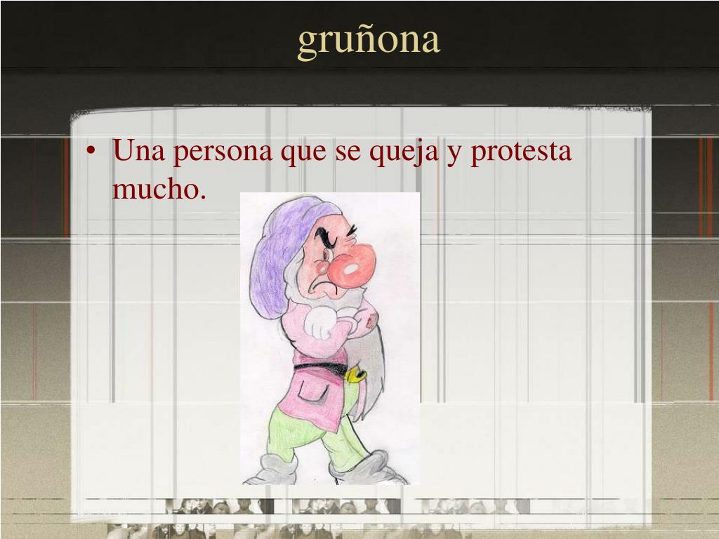 gruñona