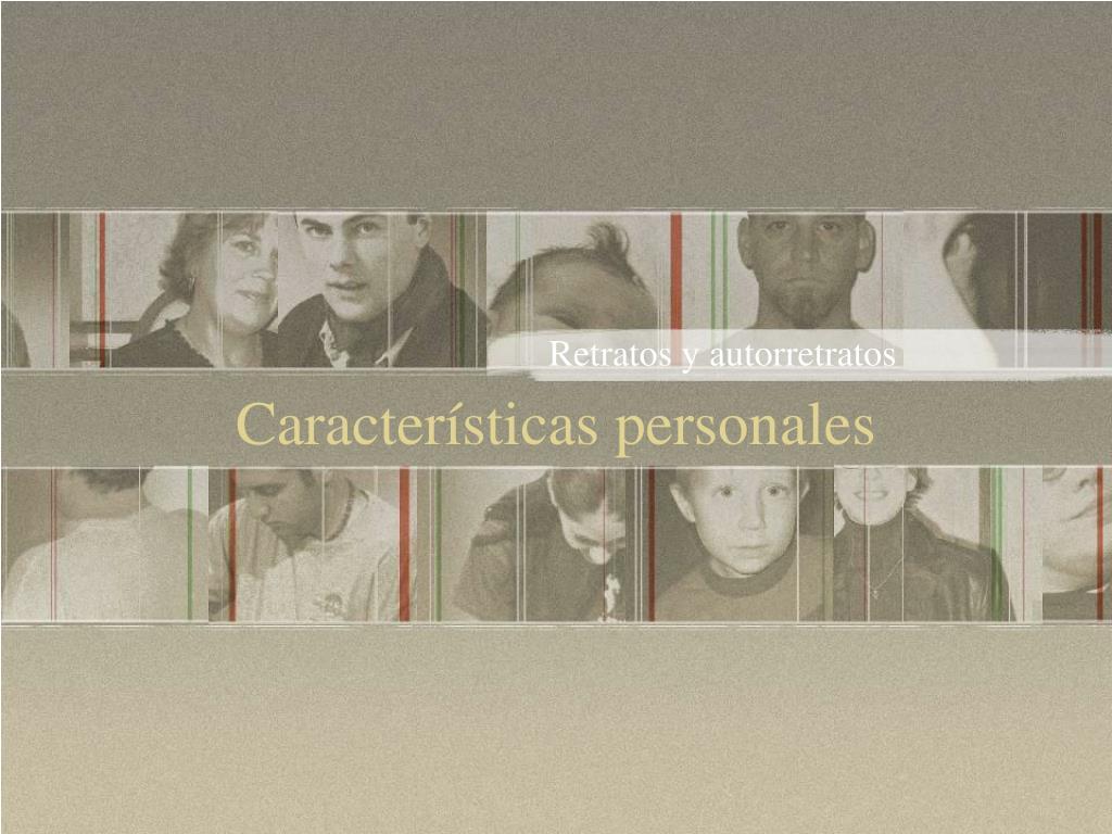 Retratos y autorretratos