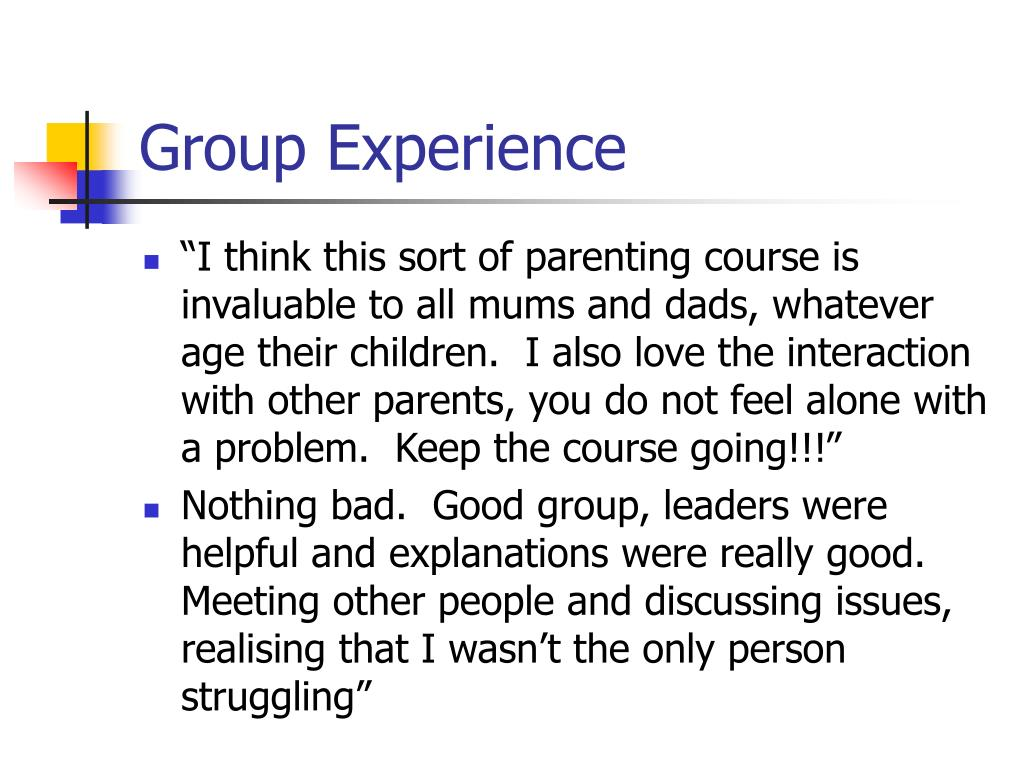Group Experience