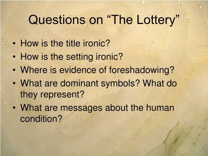 """tessie hutchinson normal behavior Without rules and laws, how would we behave towards one another  """"the  lottery"""" asks these same questions through its depiction of an ordinary town   tessie hutchinson finally protests when she is singled out, saying """"it isn't fair, it  isn't."""