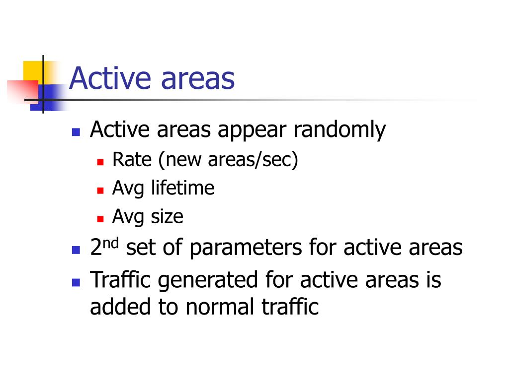 Active areas