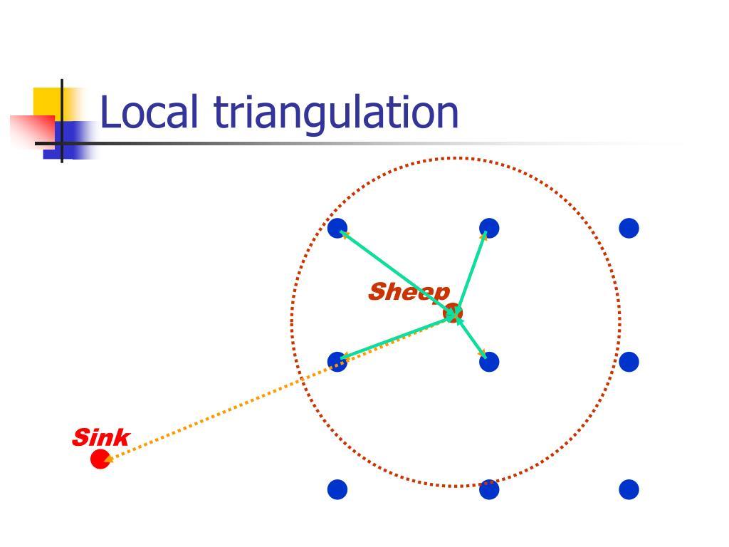 Local triangulation