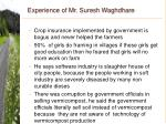 experience of mr suresh waghdhare40