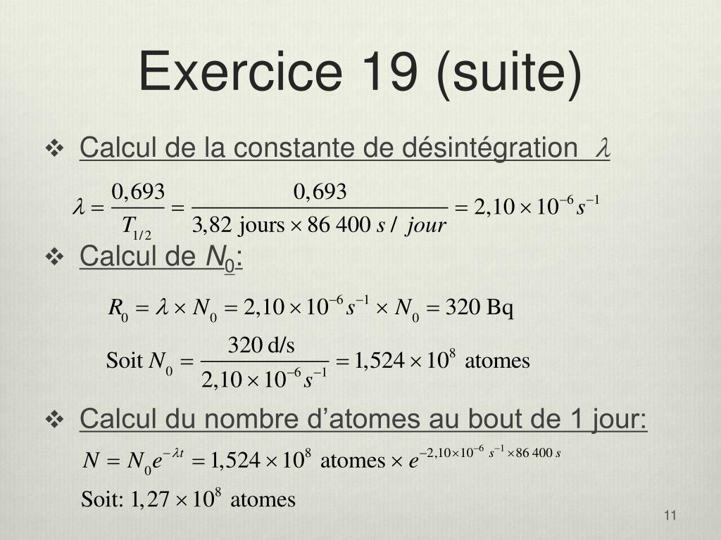 Exercice 19 (suite)