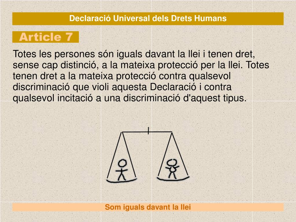 Declaració Universal dels Drets Humans