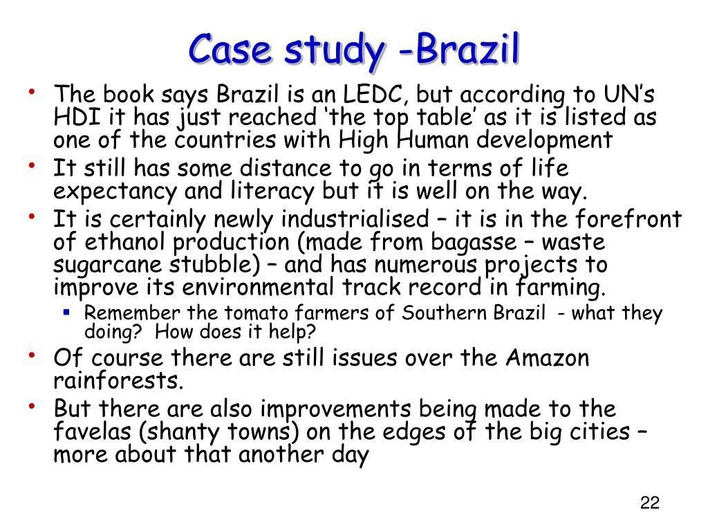 Case study -Brazil