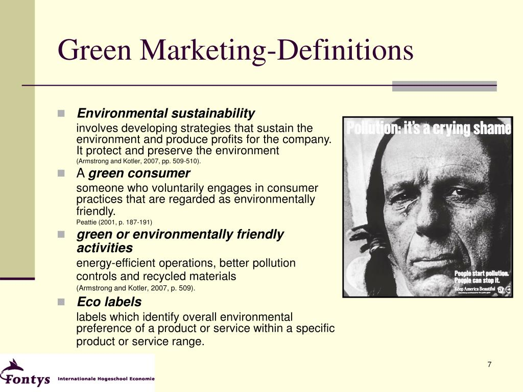 Green Marketing-Definitions