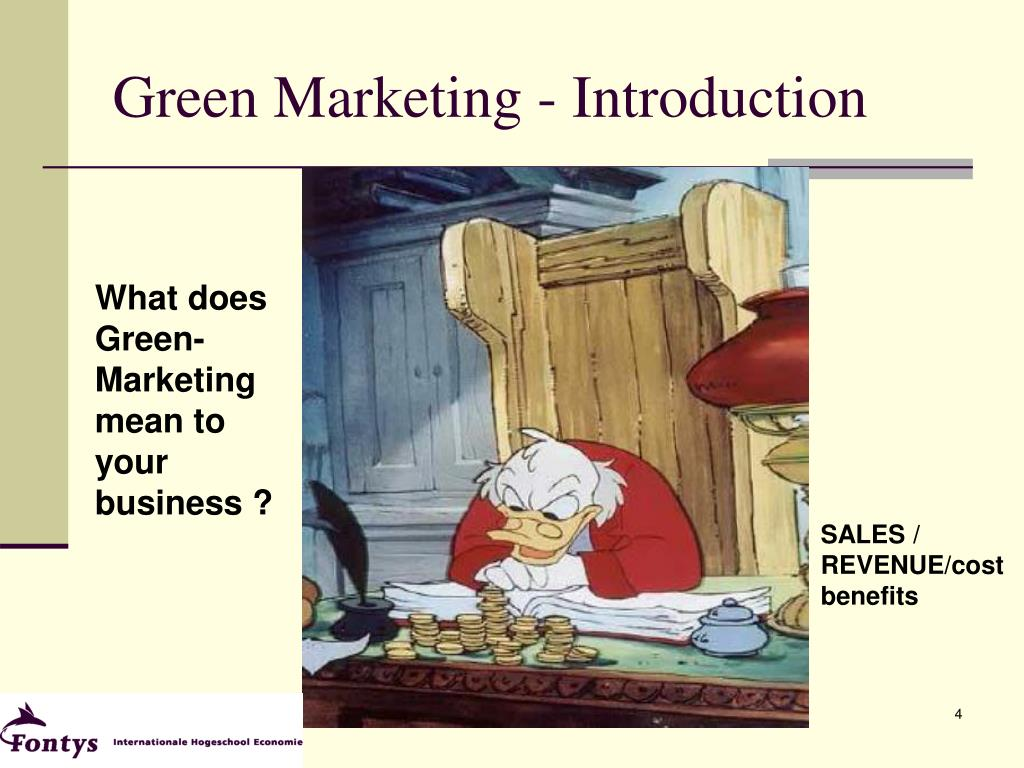 Green Marketing - Introduction