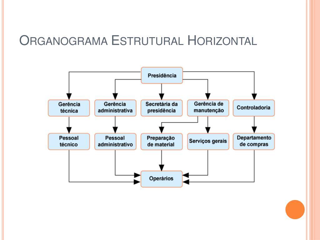 Organograma Estrutural Horizontal