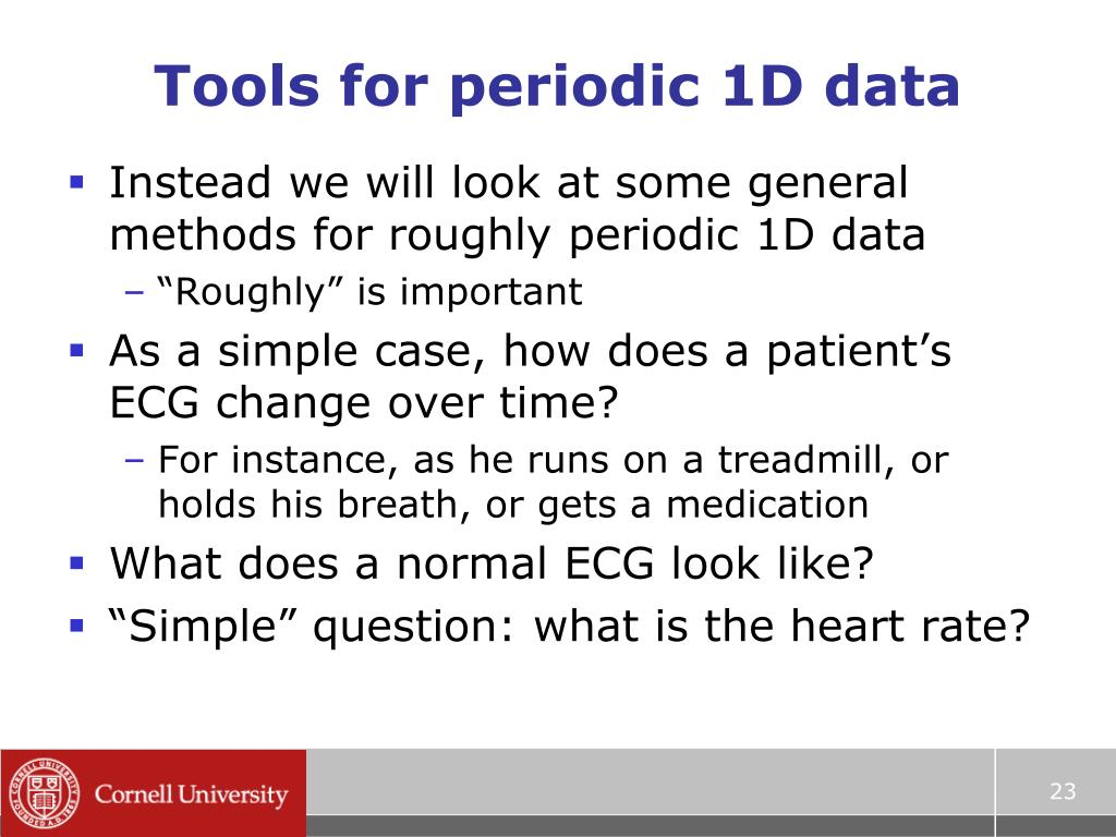 Tools for periodic 1D data