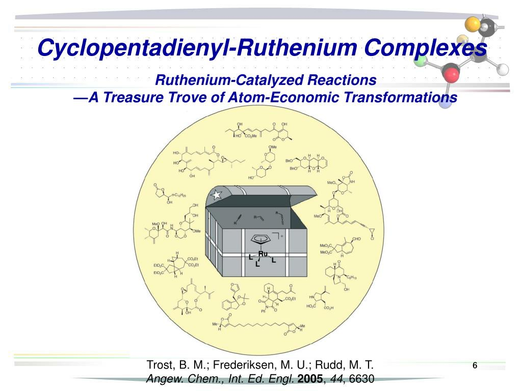 Cyclopentadienyl-Ruthenium Complexes