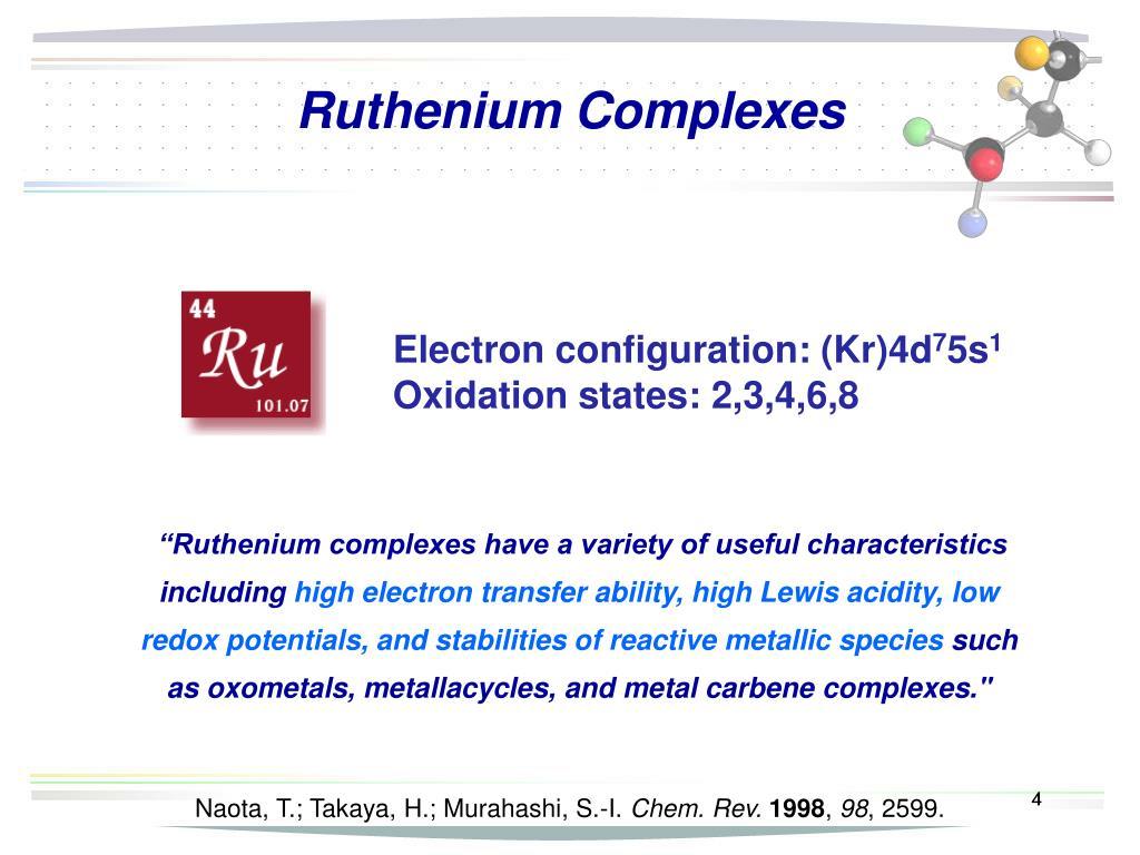Ruthenium Complexes