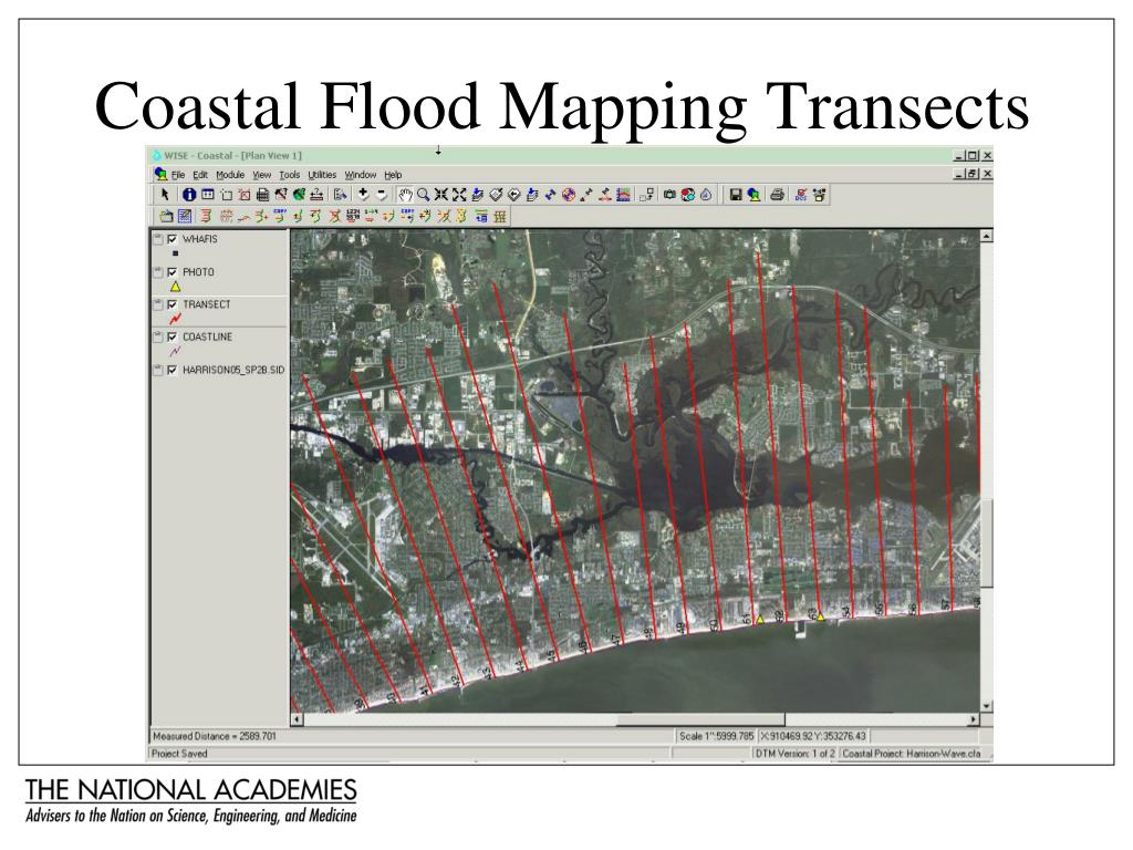 Coastal Flood Mapping Transects