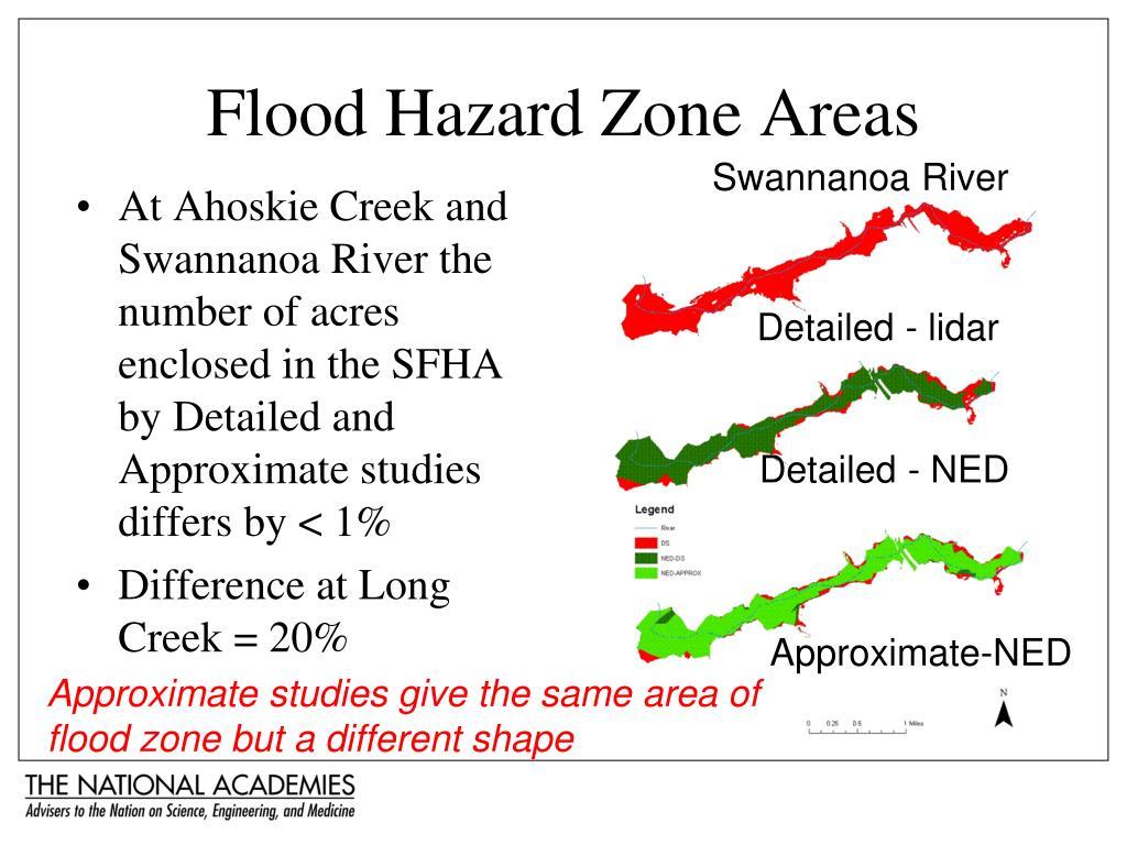 Flood Hazard Zone Areas