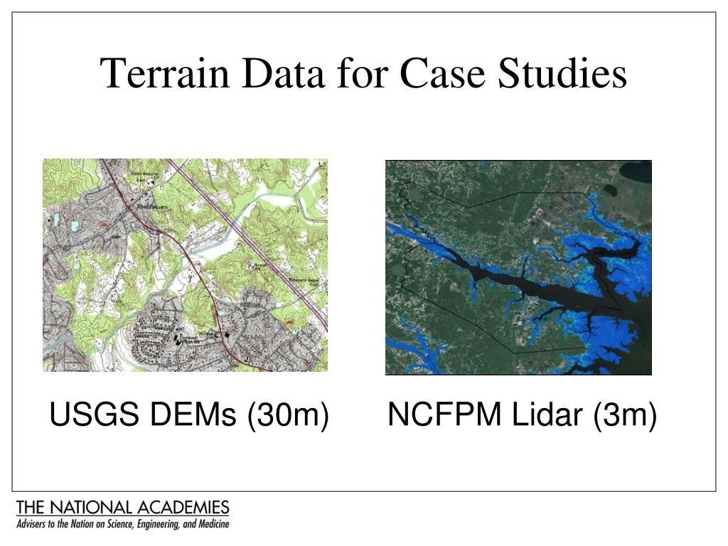 Terrain Data for Case Studies